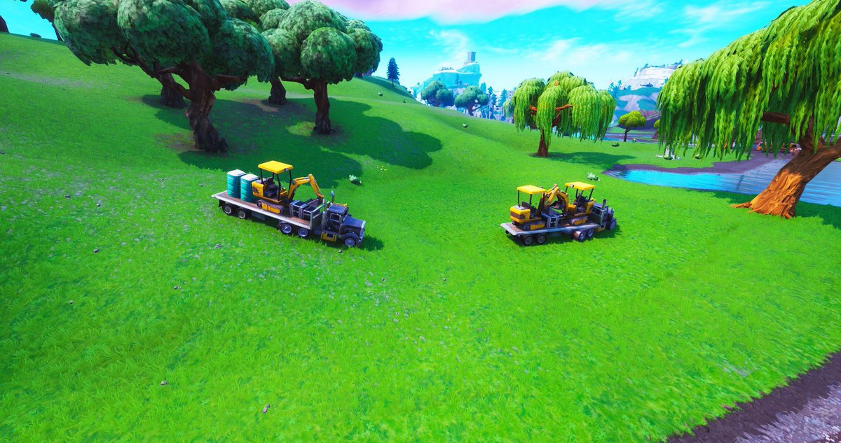 fortnite excavation team at loot lake via fnbrhq - excavation site fortnite