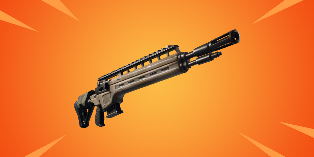 Epic and legendary infantry rifle soon at Fortnite Battle Royale