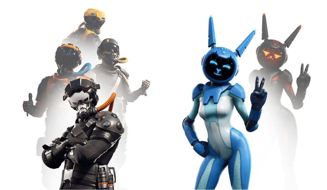 All Leaked Fortnite Skins & Cosmetics Found in the v8 40