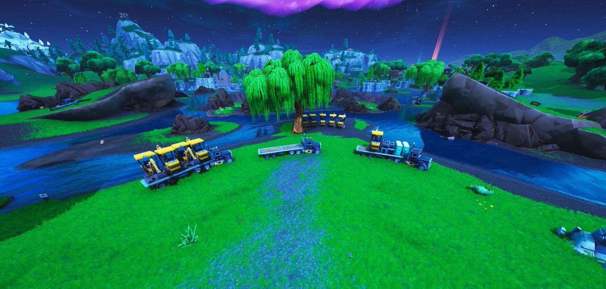 Fortnite Loot Lake Excavation / Dig Sites Theory - Angle News