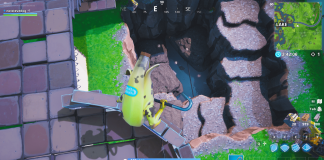 Fortnite Loot Lake Excavation Site Completed