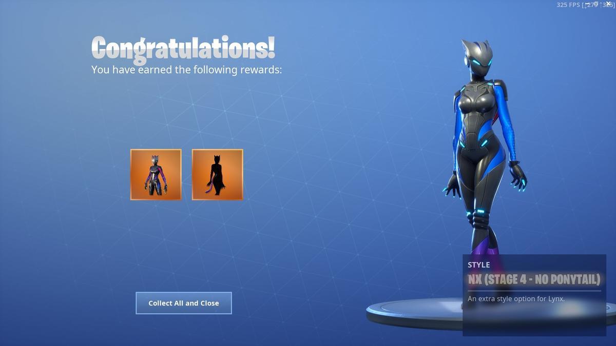 Fortnite Lynx Skin No Ponytail