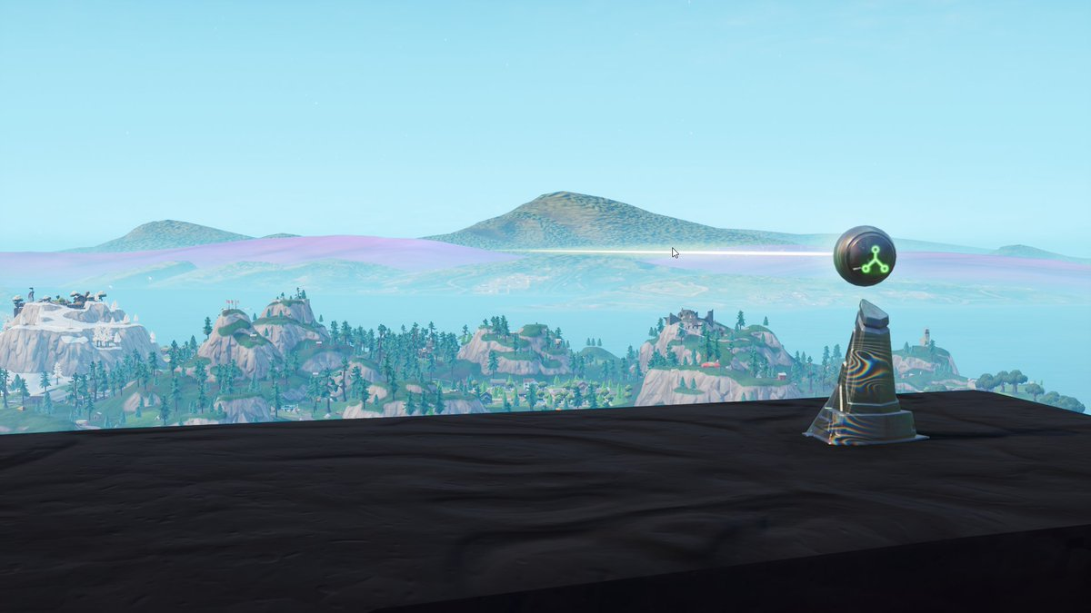 Pedestal Fortnite - via @iScenario