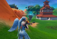 Fortnite Rune Near Lucky Landing