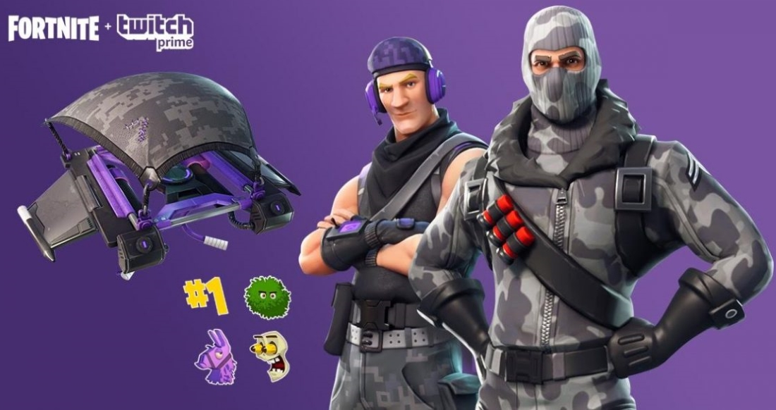 Fortnite Twitch Prime Pack 1