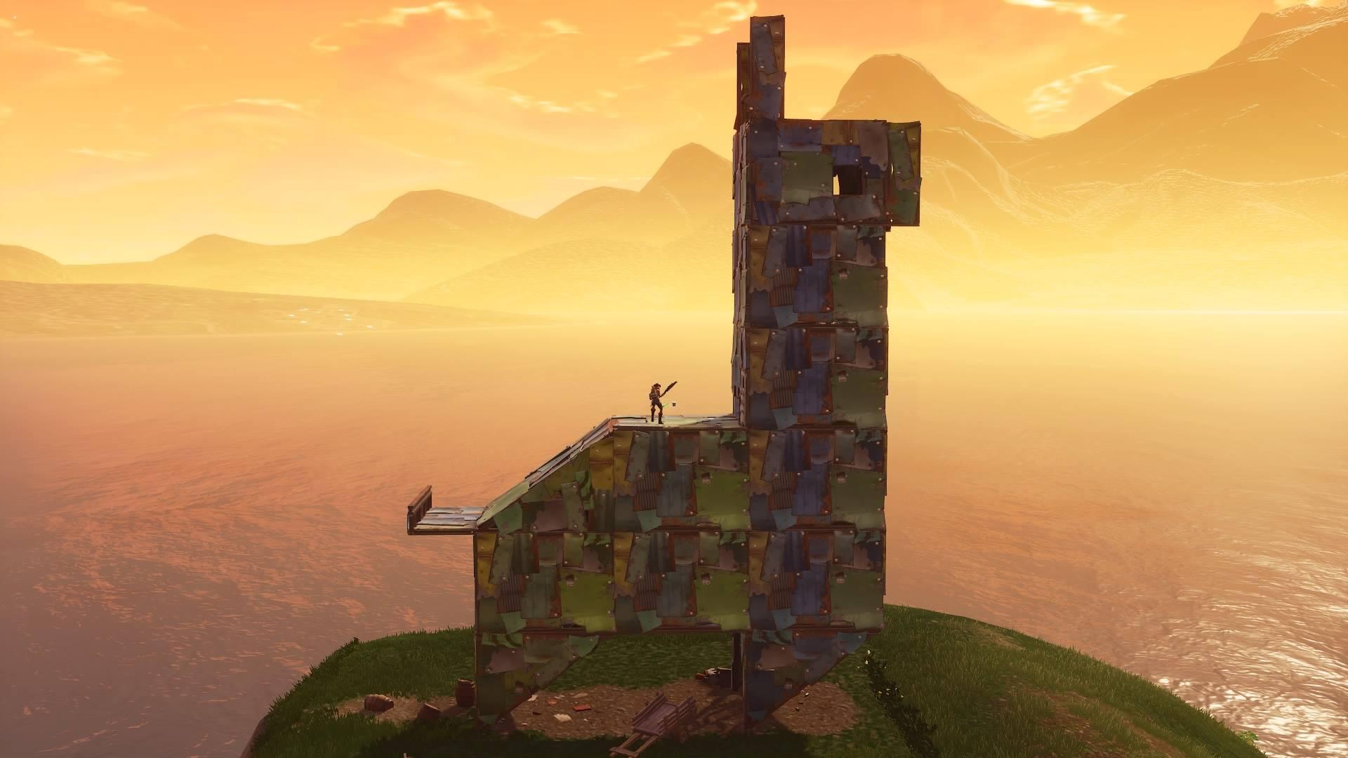 Fortbyte 21 metal llama building