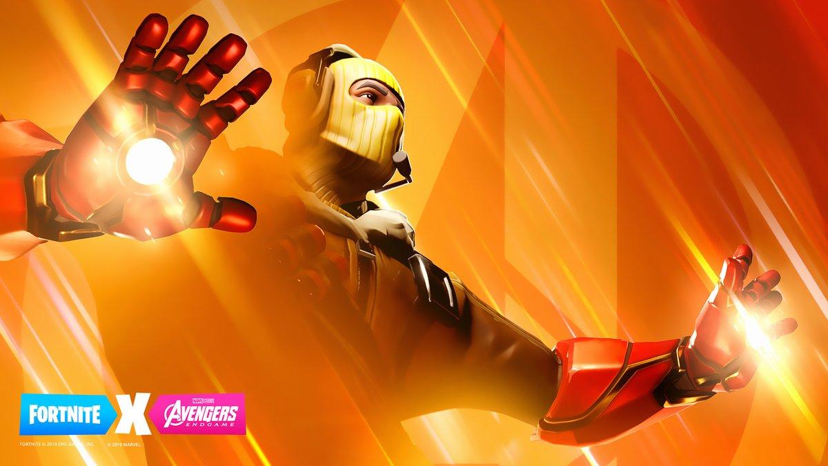 Fortnite X Avengers Endgame Teaser 3