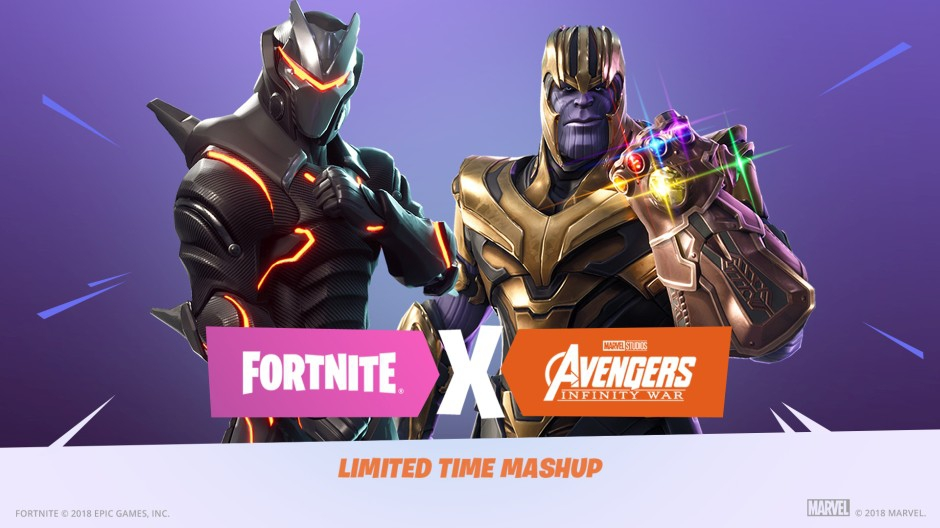 Fortnite X Avengers Infinity War