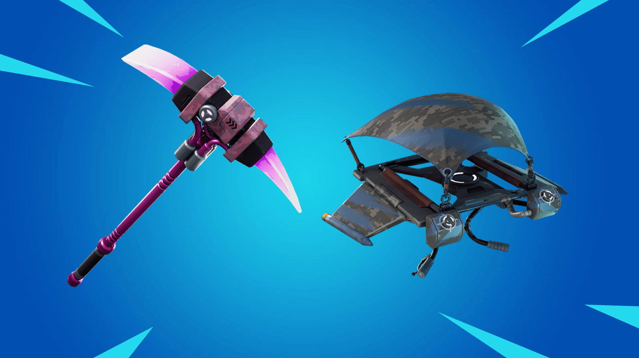 Founders Exclusive Pickaxe and Glider