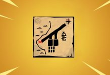 Search the X on the treasure map signpost in Paradise Palms