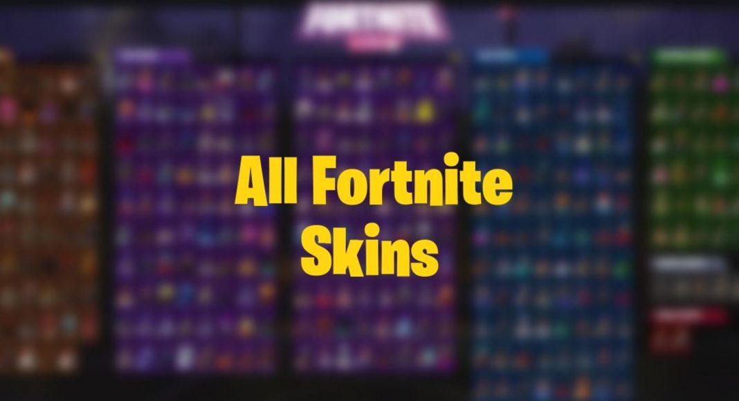All Fortnite Skins Ever Released Item Shop Battle Pass Exclusives Fortnite Insider