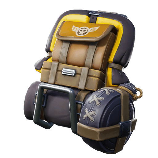Bomber Bag (Legendary Back Bling) - High flying