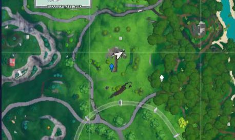 Location Fortbyte 07: Cuddling Emoticon in a Rocky Umbrella
