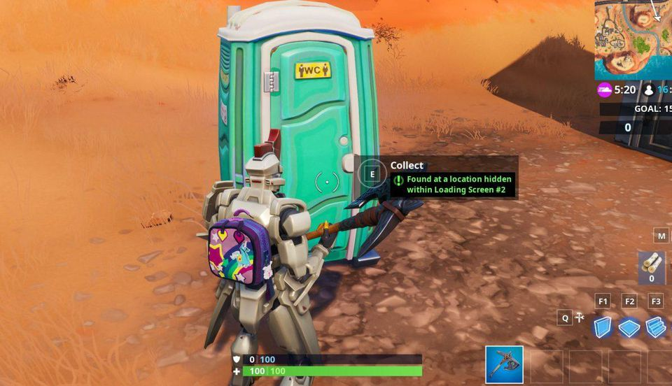 Fortnite Season 9 Fortbyte 13 Found At A Hidden Location