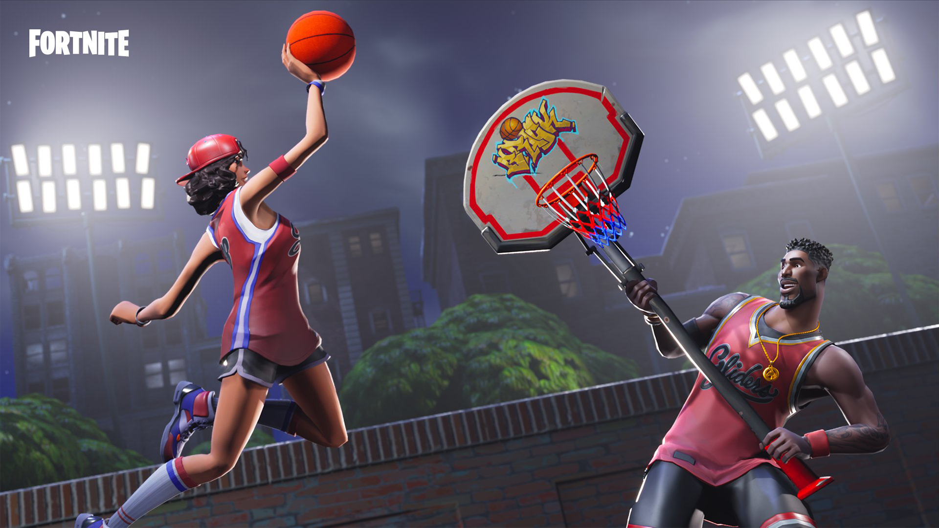 e81498286 Fortnite Basketball Skins - Jumpshot   Triple Threat