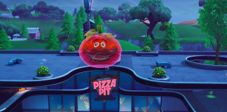 Fortnite Challenge Holographic Tomato Head Location