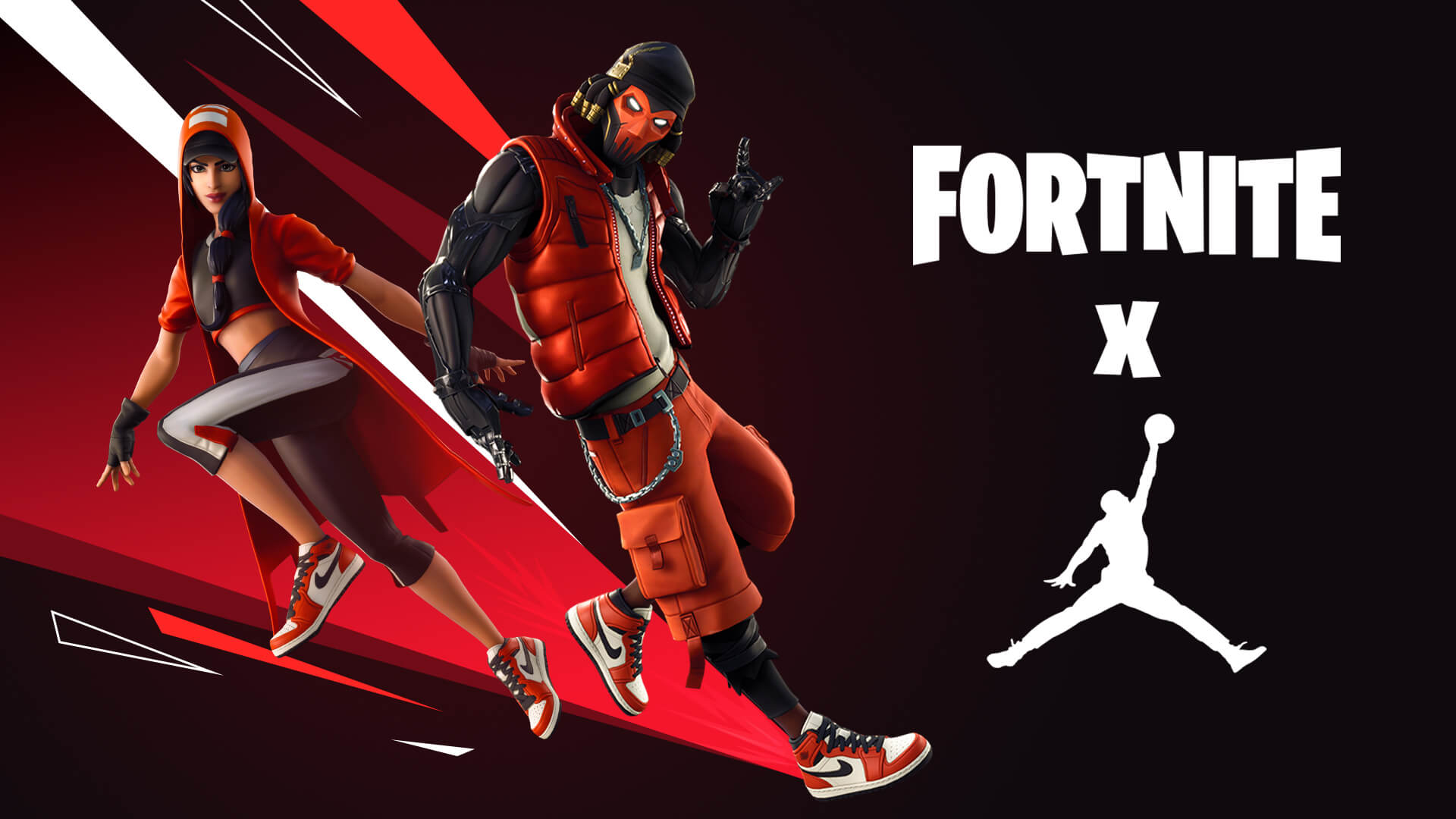 Fortnite Clutch and Grind Jumpman skins