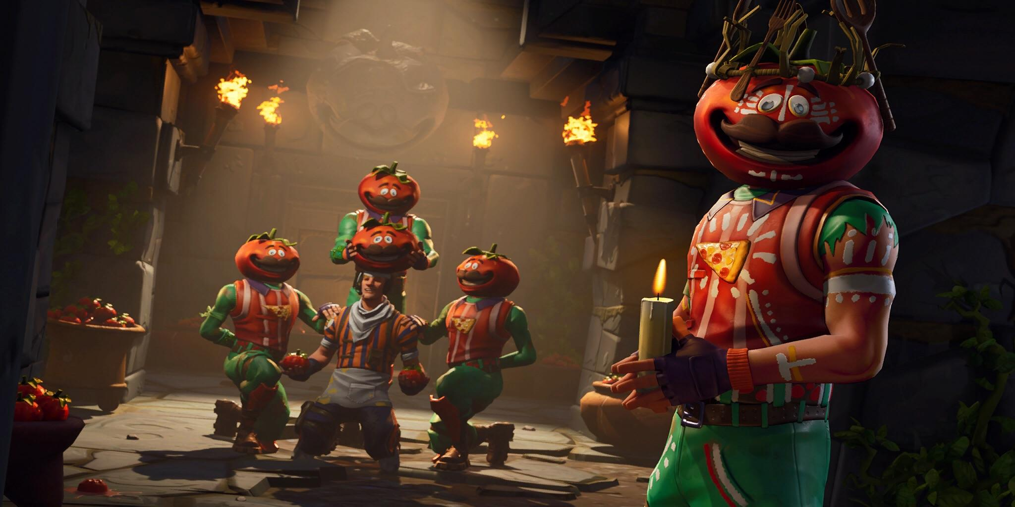Fortnite Grill Sergeant Tomatohead Loading Screen