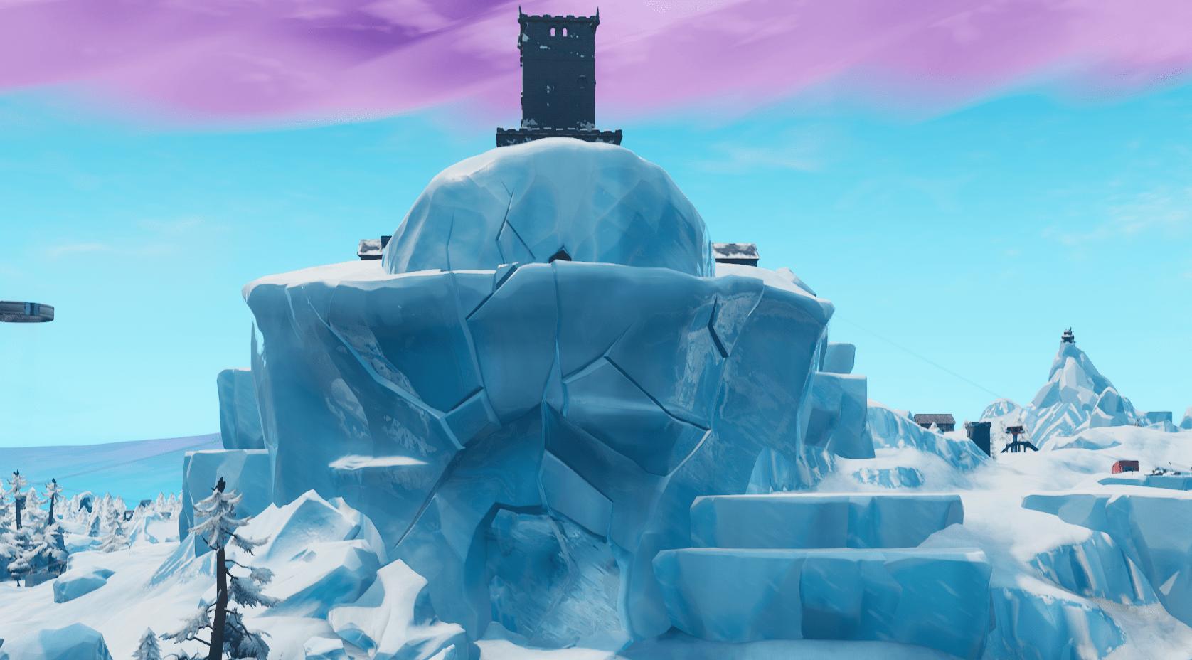 Fortnite POI Polar Peak Is Breaking | Fortnite Insider