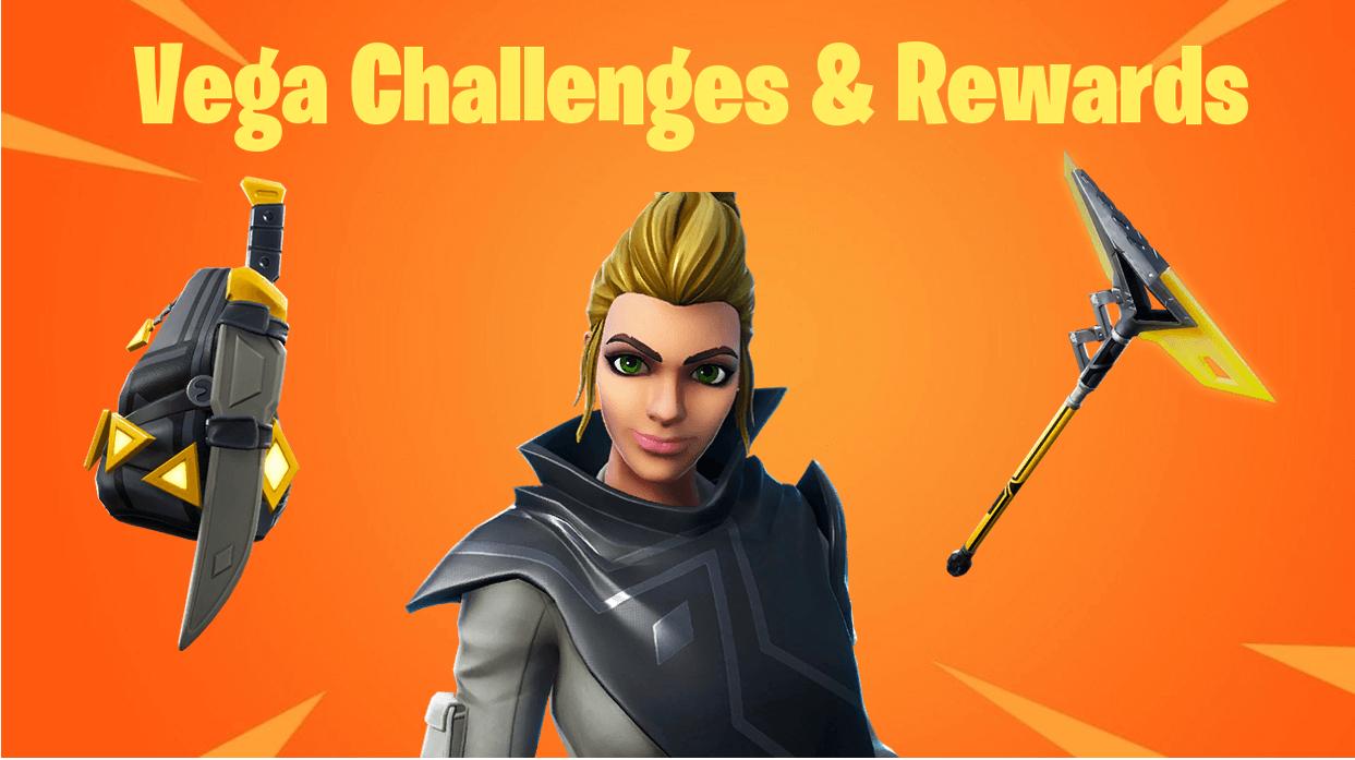 Fortnite Season 9 Battle Pass Vega Challenges, Styles & Rewards