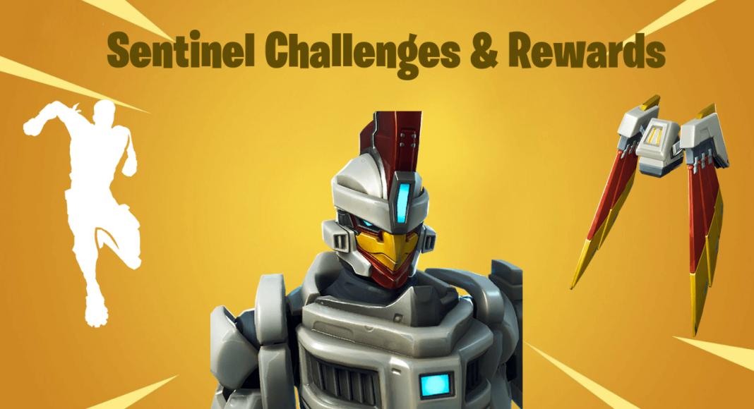 Fortnite Sentinel Challenges And Rewards