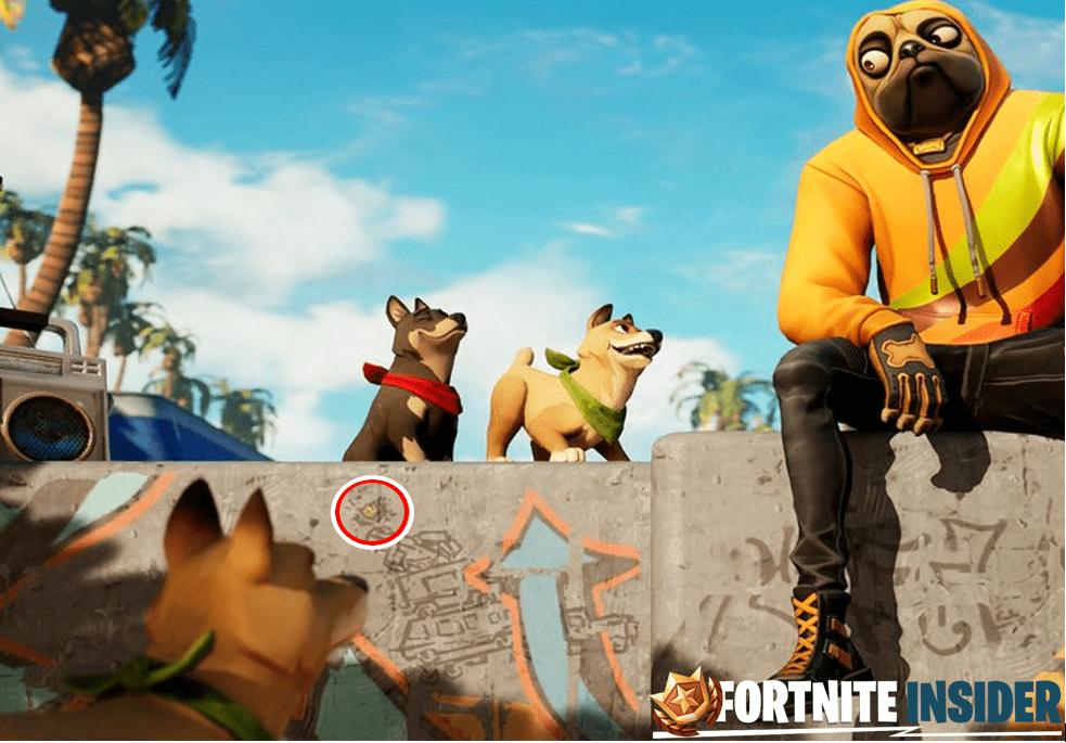 Fortnite Utopia Week 3 Hidden Battle Star Loading Screen