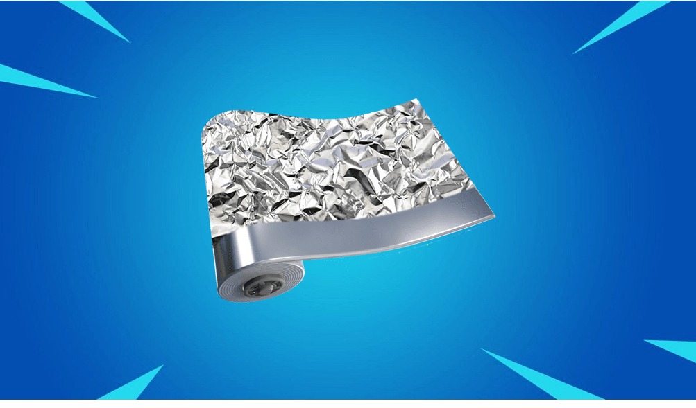 Fortnite Wrap Concept - Tin Foil- via u/M-C_Skittles