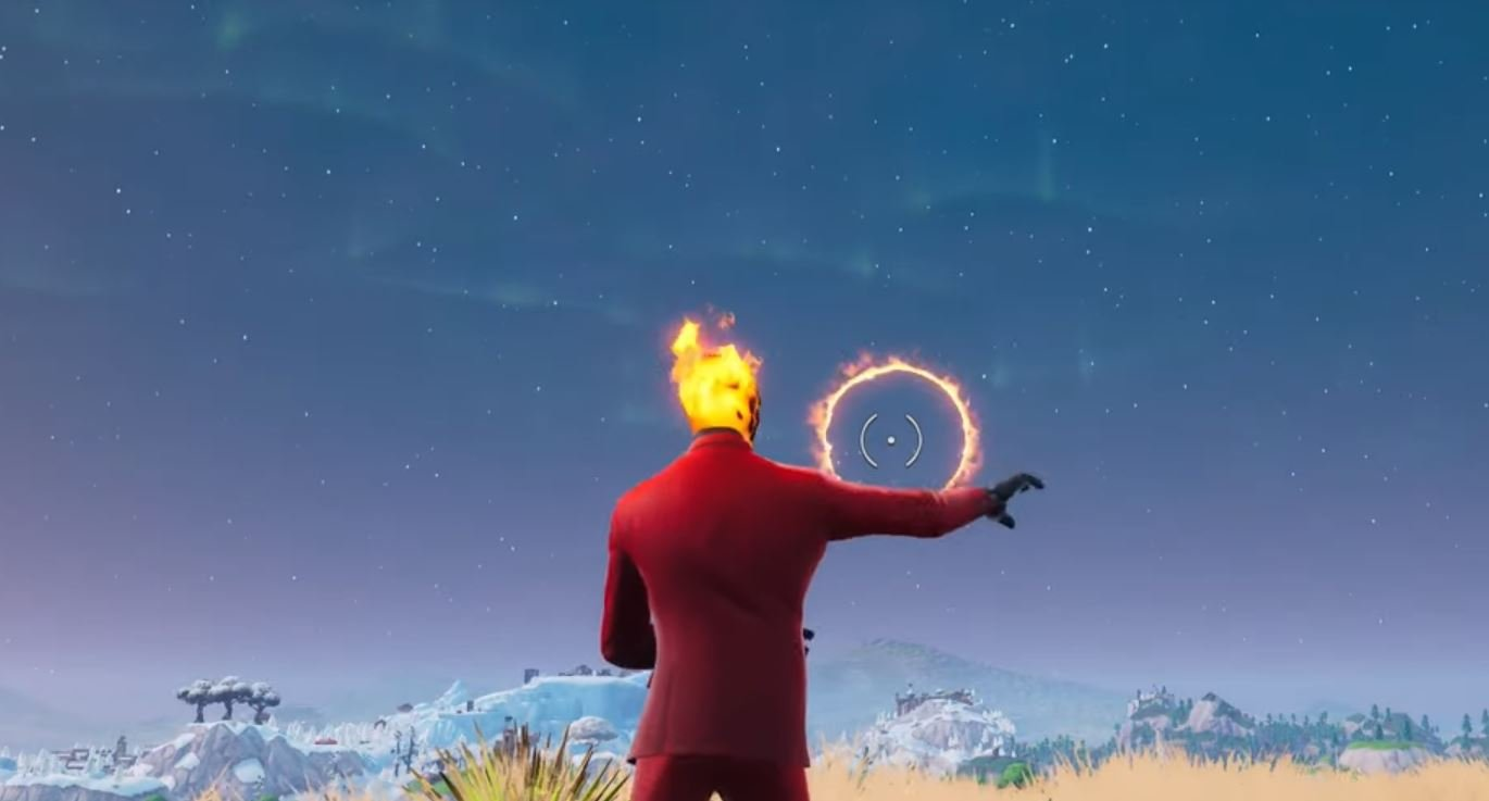 Fortnite FLAMING HOOPS Week 10 CHALLENGE map locations revealed for Season 8