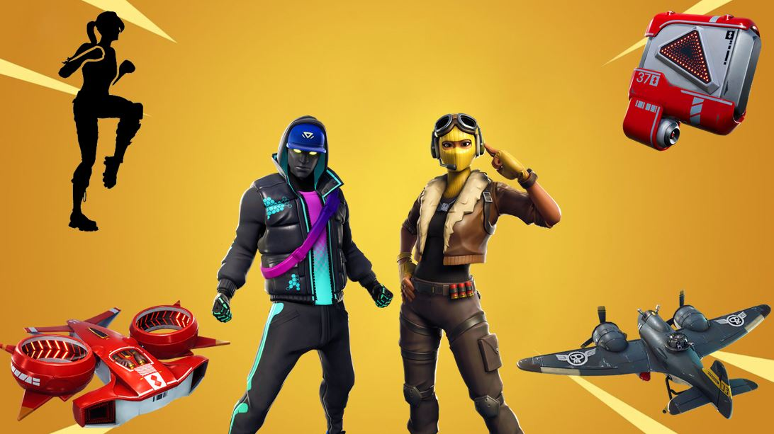 Fortnite v9.00 Leaked Cosmetics Names and Rarities