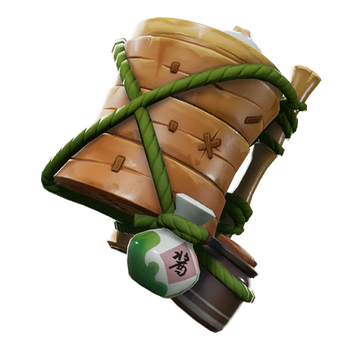 Fortnite v9.10 Leaked Back Bling - Bao Basket