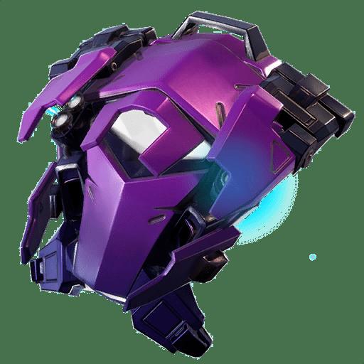 Fortnite v9.10 Leaked Back Bling - Dark Deflector