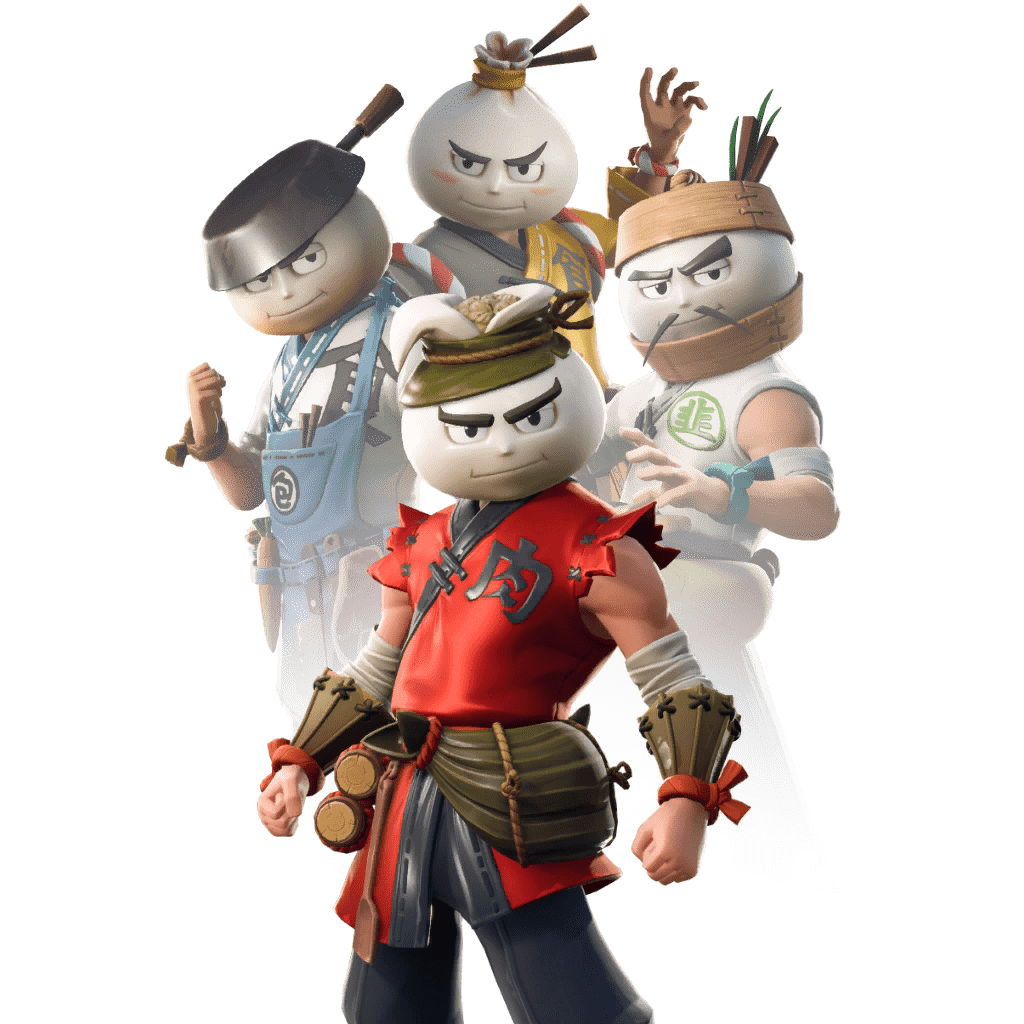 Fortnite v9.10 Leaked Skin - Bao Bros