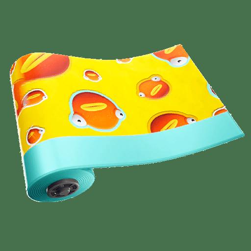 Fortnite v9.10 Leaked Wrap - Fish Face