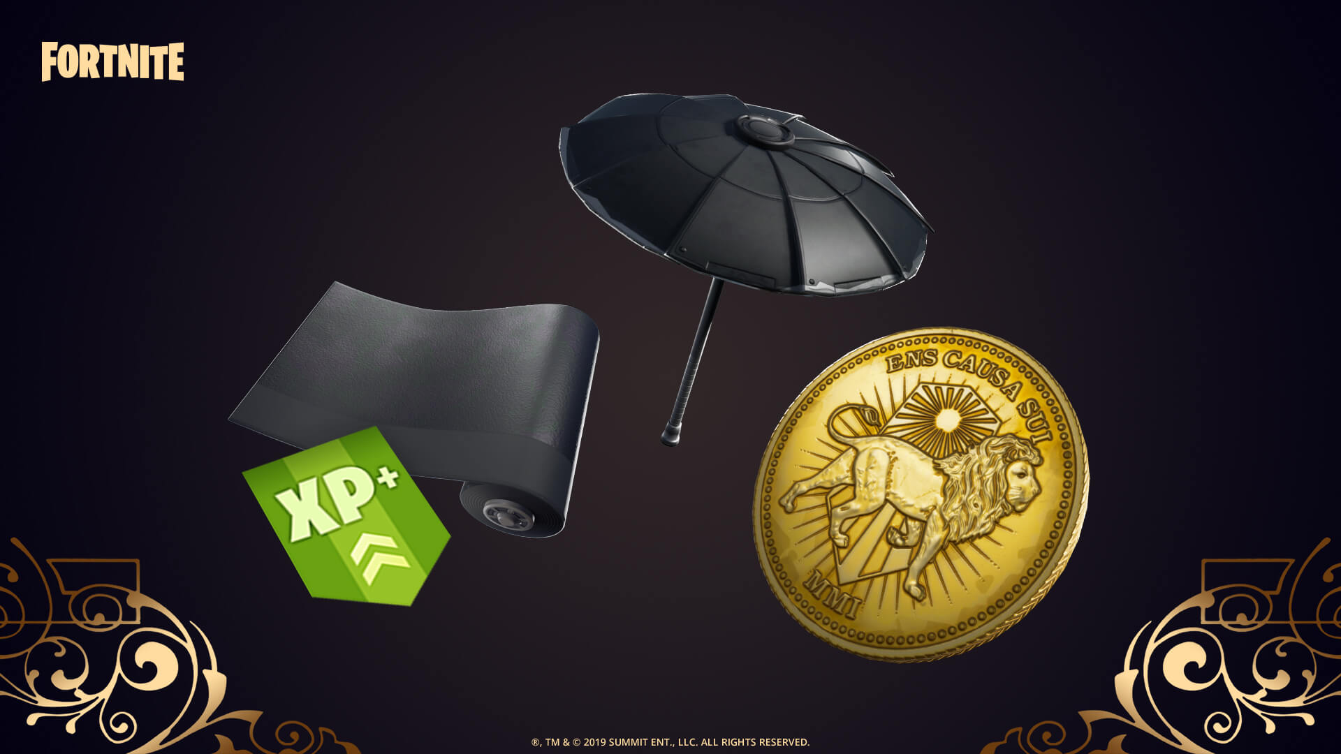 Fortnite x John Wick Collaboration - Wick's Bounty LTM Rewards