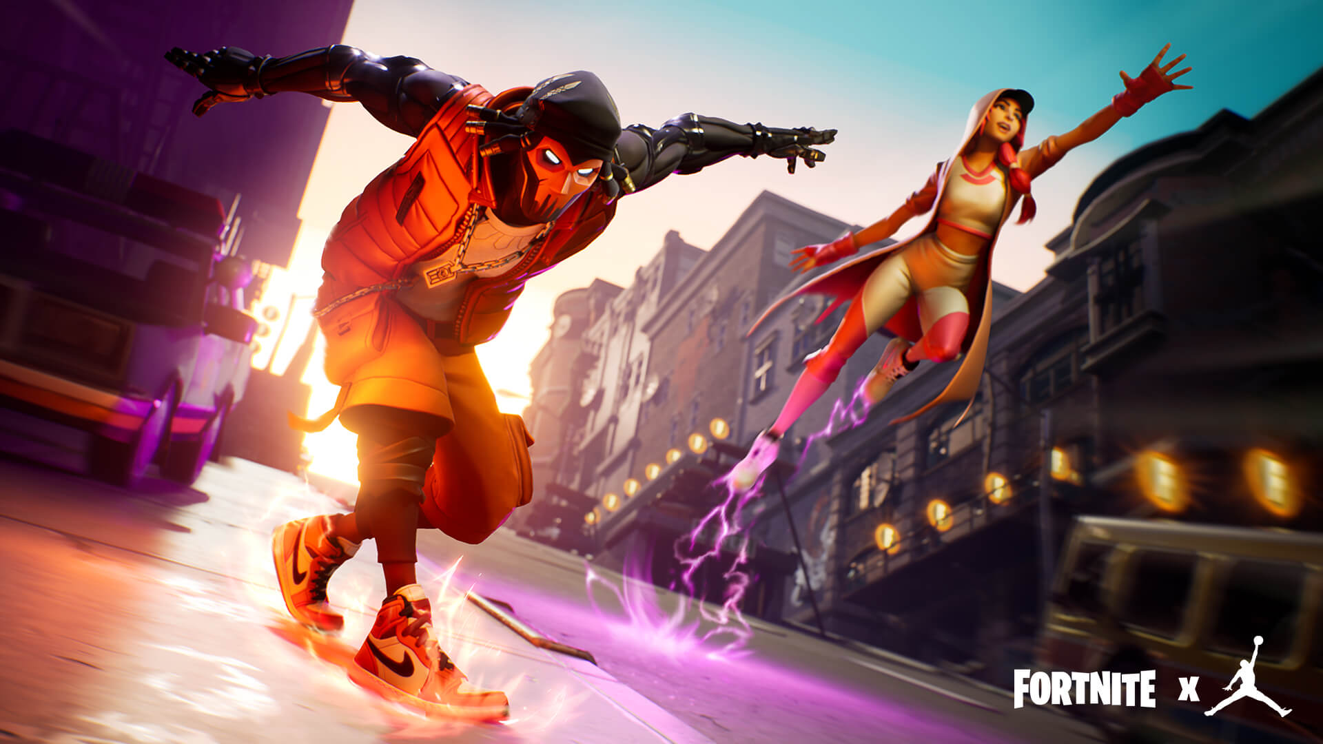 FortniteFortnite x Jumpman - Downtown Drop LTM Screenx Jordan collab screen
