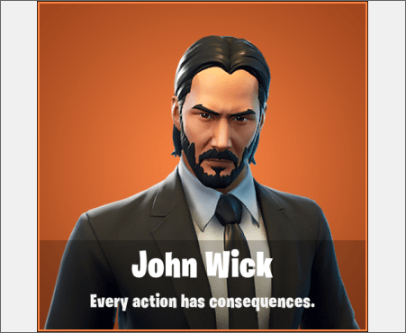 John Wick Fortnite Skin Leaked