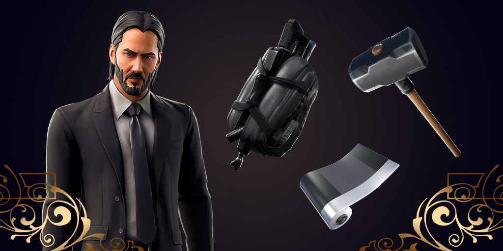 Fortnite John Wick Set