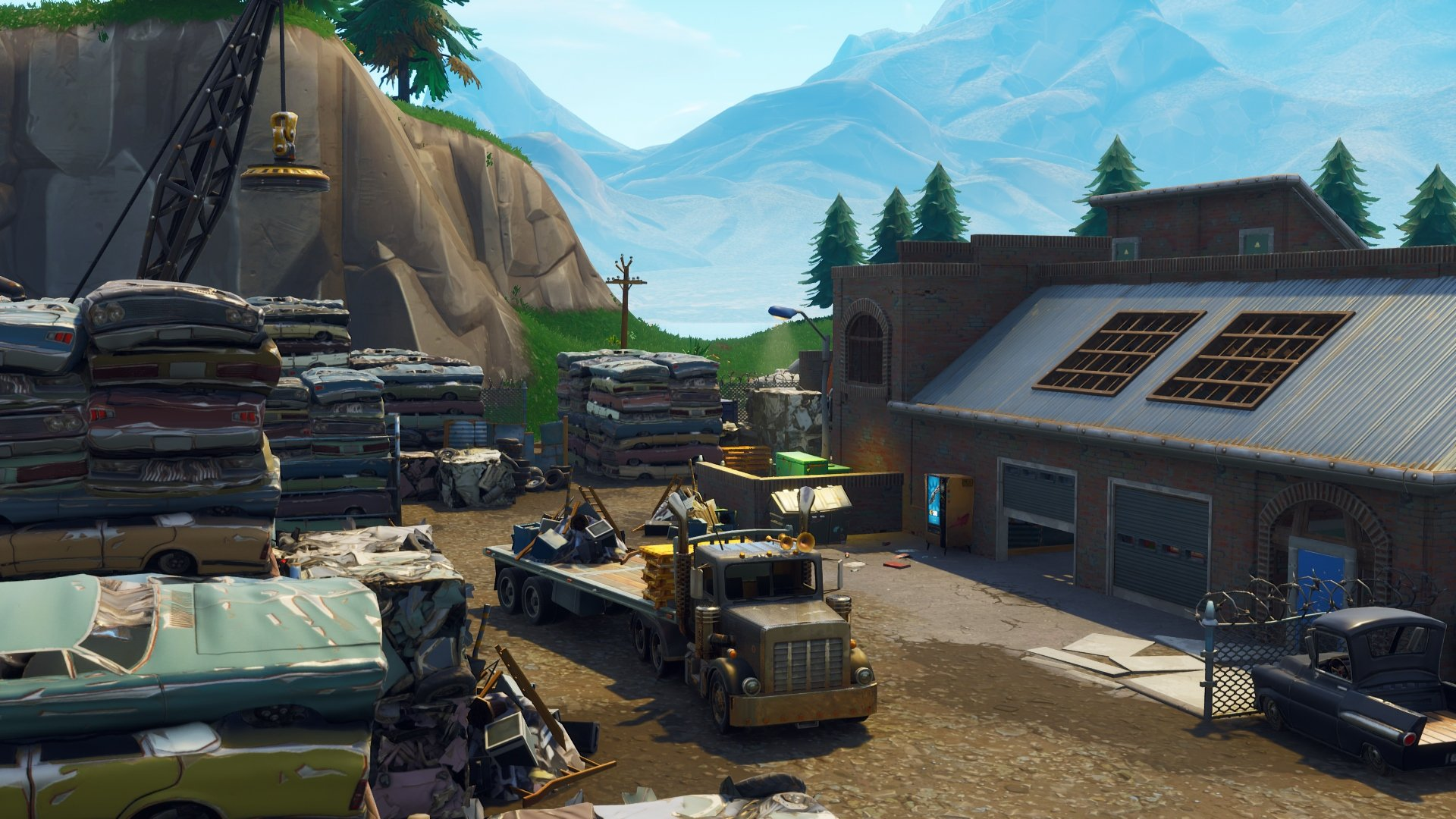 Fortnite Guide: Where's The Junk Junction Treasure Map?
