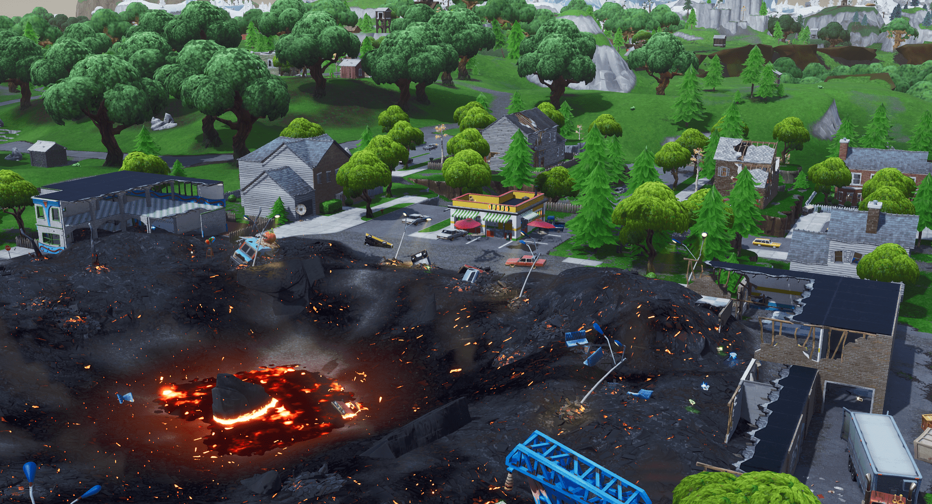 Fortnite Map Changes After Event Retail Row