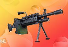 14 Days of Summer Fortnite Event Day 1 Light Machine Gun Unvaulted