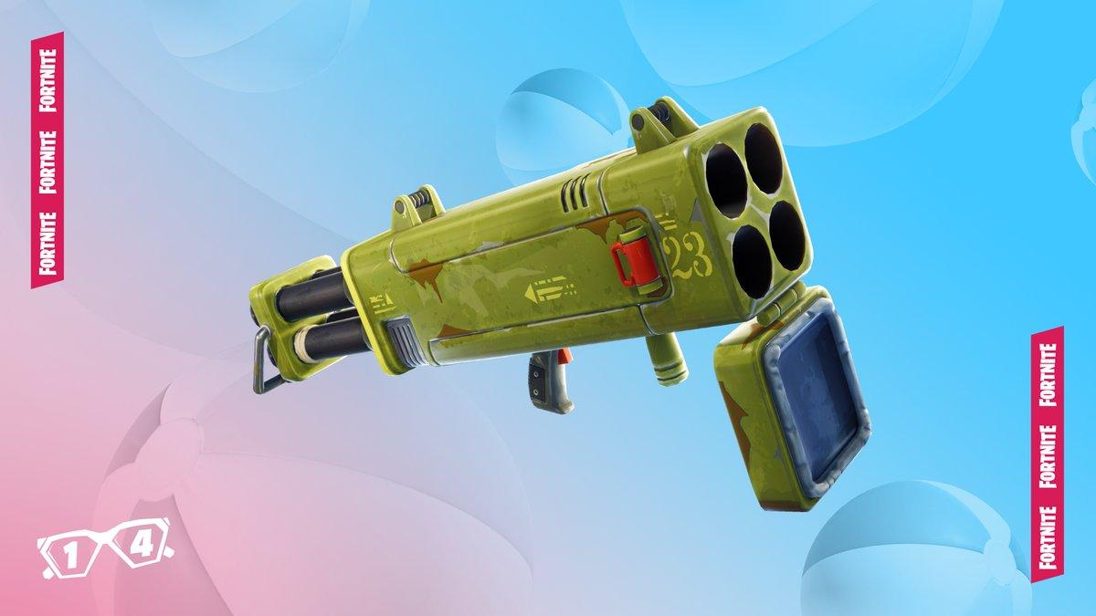 14 Days of Summer Fortnite Event Day 2 - Quad Launcher Unvaulted