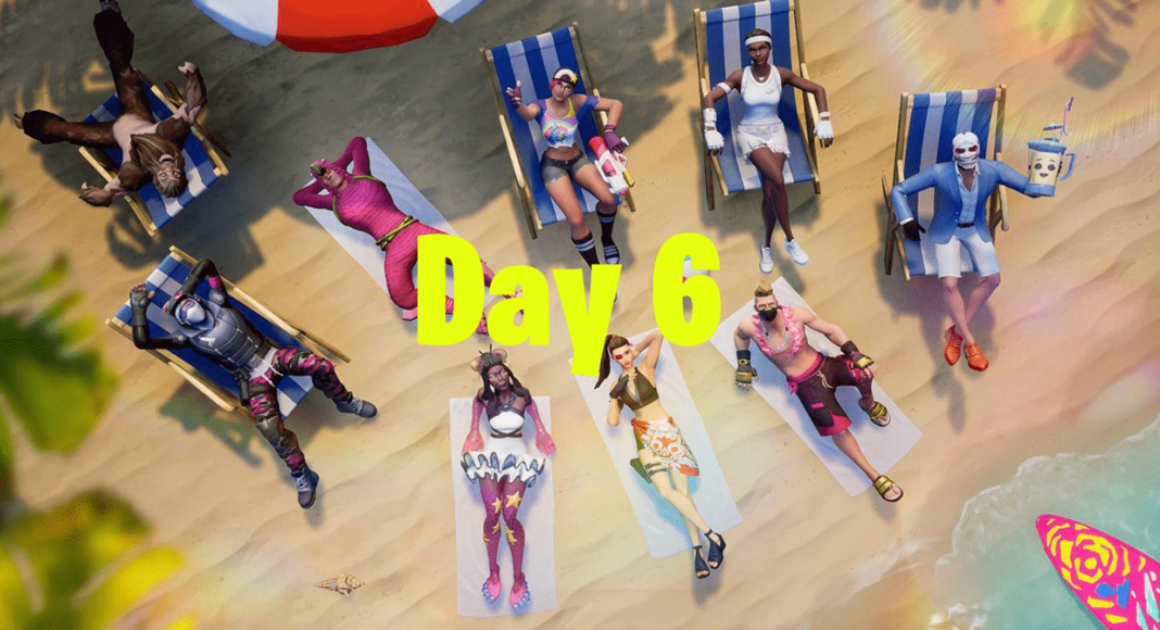 14 Days of Summer Fortnite Event - Day 6