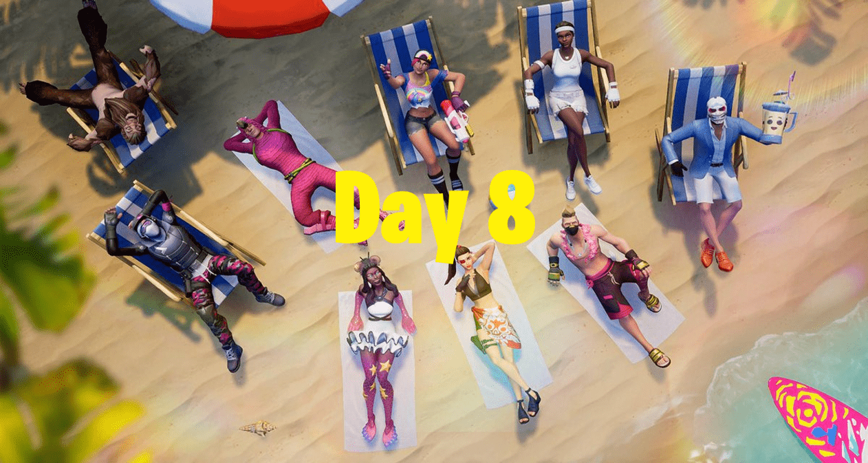 14 Days of Summer Fortnite Event - Day 8