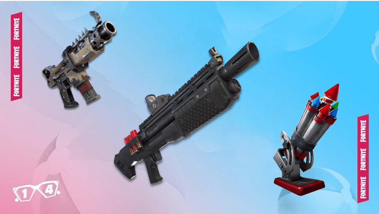 Fortnite Leaked Unvaulted Weapons For The 14 Days of Summer