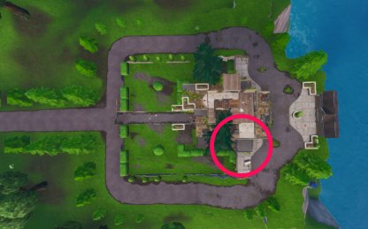 GUIDE: Where to find Fortbyte #62 in an abandoned mansion