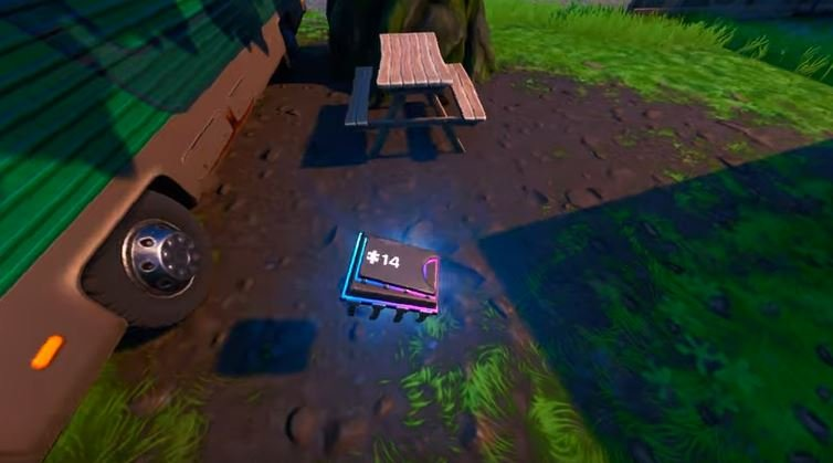 Fortbyte 14 in RV PARK