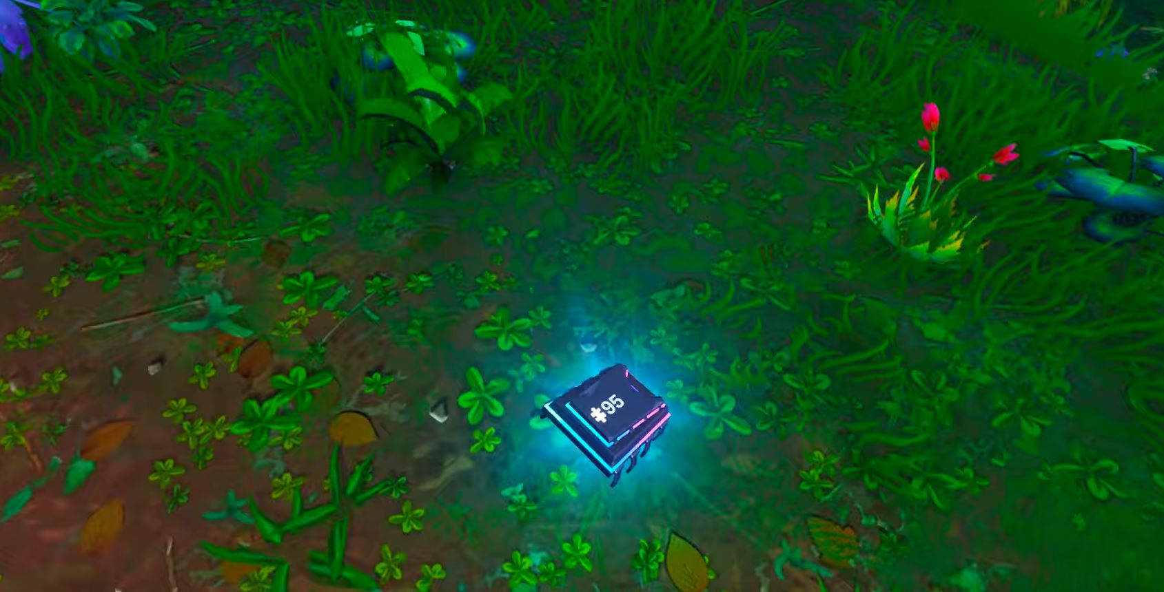 Fortbyte #95 - FOUND AT A SOLAR PANEL ARRAY IN THE JUNGLE Fortnite Location