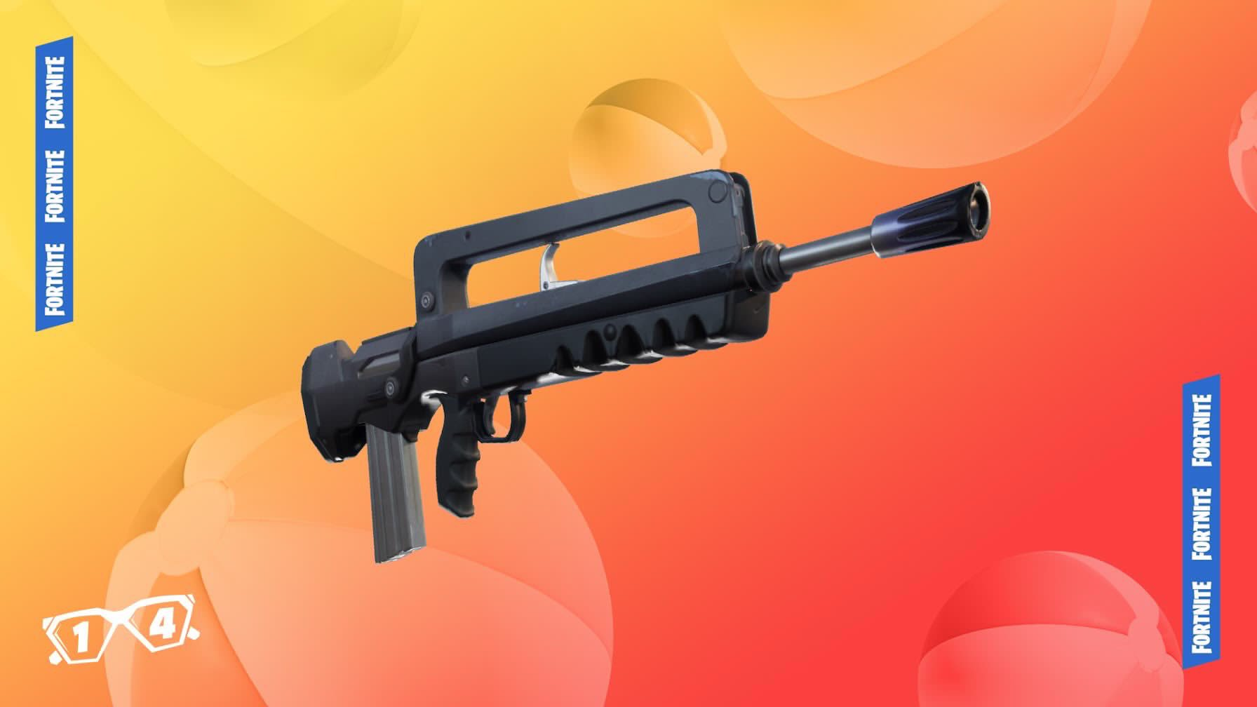 Fortnite 14 Days of Summer Event Day 3 - Pulsating Rifle Unvaulted