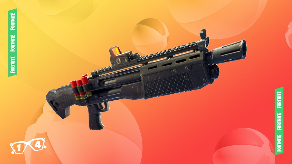 Fortnite 14 days of summer day 5 heavy shotgun unvaulted