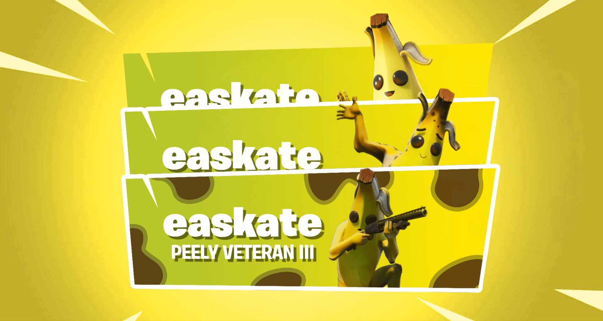 Fortnite Animated Calling Cards Concept